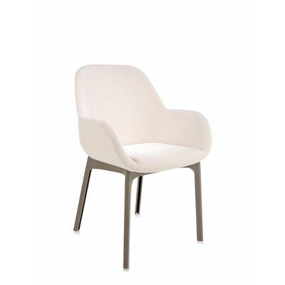 Clap Arm Chair Color: Beige/Dove
