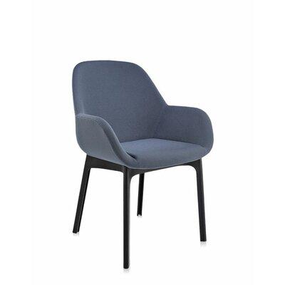 Clap Arm Chair Color: Graphite/Black