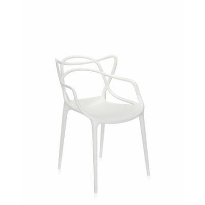 Masters Chair (Set of 4) Finish: White