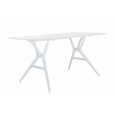 Spoon Training Table Tabletop Finish: White, Size: Small Rectangular