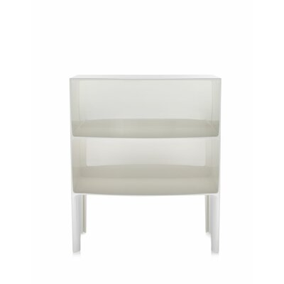 Ghost End Table Color: Mat White