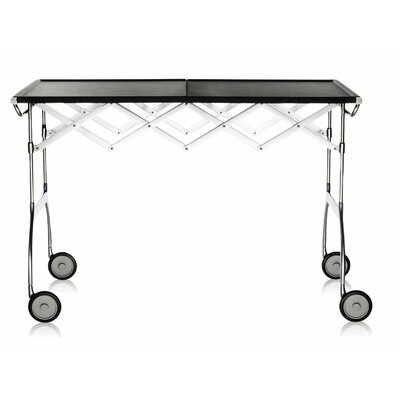 Battista Kitchen Cart Color: Matte Black