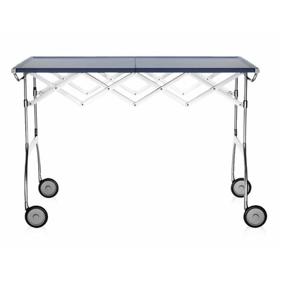 Battista Extendible Folding Table Color: Matte Plum