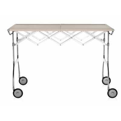 Battista Kitchen Cart Color: Matte Cream