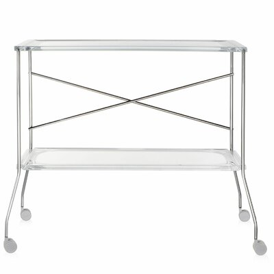 Flip Kitchen Cart Color: Crystal