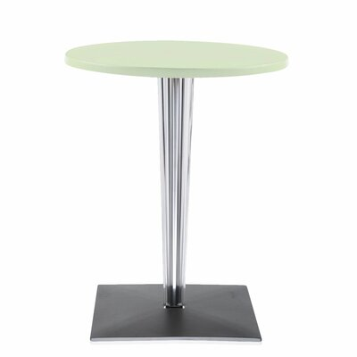 Top Top Bar Table Finish: Green