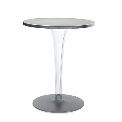 Top Top Bar Table Finish: Aluminum