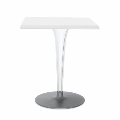 Top Top Bar Table Finish: White