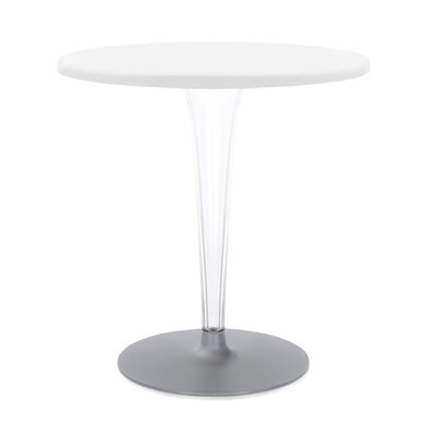 Top Top Dining Table Finish: White