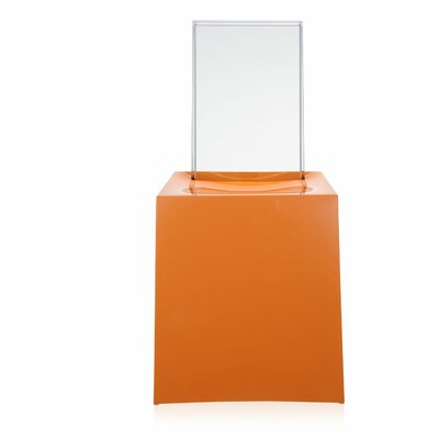 Miss Less Side Chair Finish: Orange / Crystal