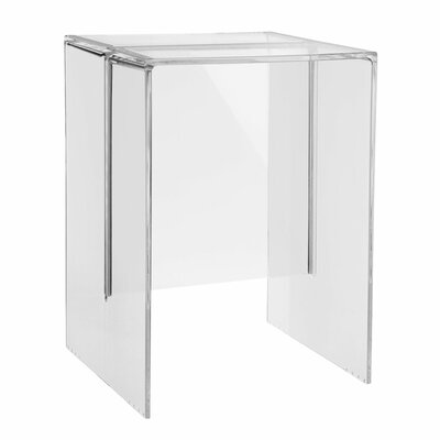 Max Beam Side Table Color: Crystal