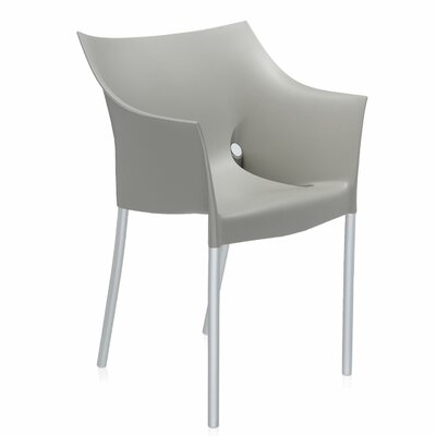 Dr. No Arm Chair (Set of 2) Finish: Warm Grey