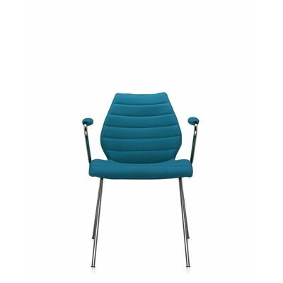 Maui Soft Armchair (Set of 2) Upholstery: Trevira Teal