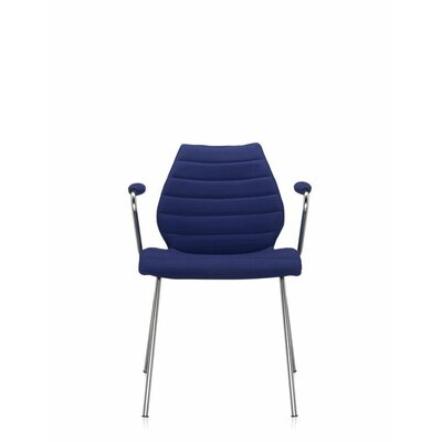 Maui Soft Armchair (Set of 2) Upholstery: Trevira Blue