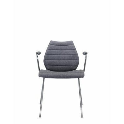 Maui Soft Armchair (Set of 2) Upholstery: Trevira Grey