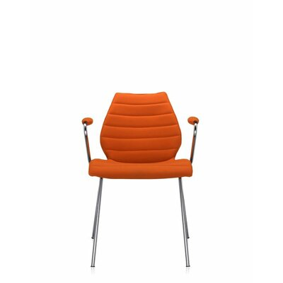 Maui Soft Armchair (Set of 2) Color: Trevira Orange