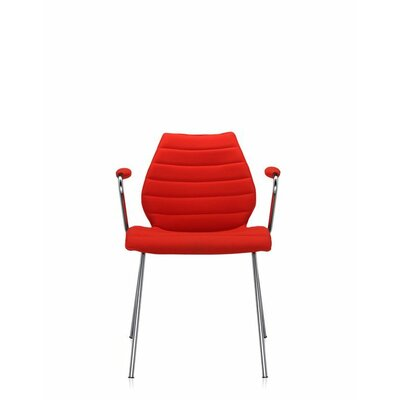 Maui Soft Armchair (Set of 2) Color: Trevira Red