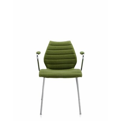 Maui Soft Armchair (Set of 2) Upholstery: Trevira Acid Green