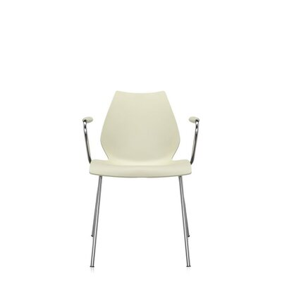 Maui Arm Chair (Set of 2) Upholstery: Pale Yellow