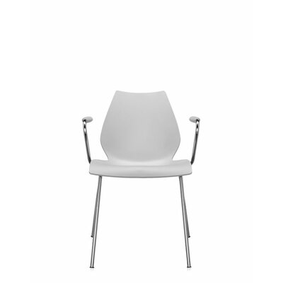 Maui Arm Chair (Set of 2) Upholstery: Pale Grey