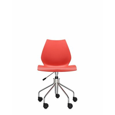 Maui Task Chair Finish: Red, Style: Height Adjustable Swivel Base without Arms Product Photo 1626