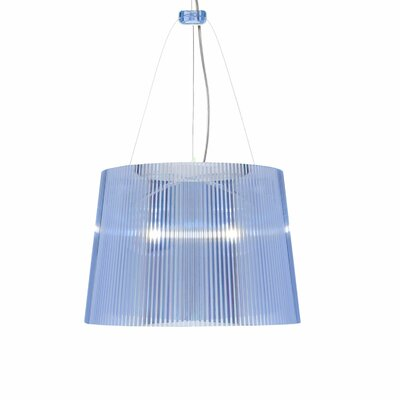 G� 1-Light Pendant Color: Light Blue