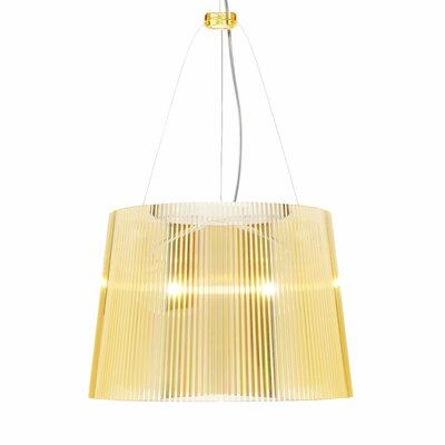 G� 1-Light Pendant Color: Yellow