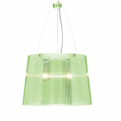 G� 1-Light Pendant Color: Green