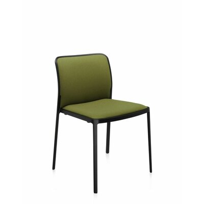 Audrey Soft Side Chair (Set of 2) Color: Painted Black, Color: Acid Green Kvadrat