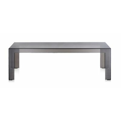 Invisible Coffee Table Table Size: 12.2 H, Color: Smoke
