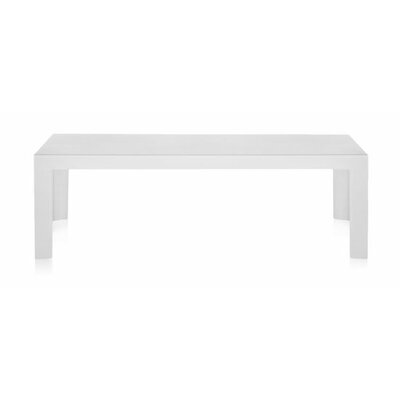 Invisible Coffee Table Table Size: 12.2 H, Color: White Matte