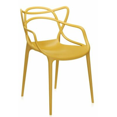 Masters Chair (Set of 2) Finish: Mustard