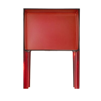 Ghost Nightstand Color: Transparent Red