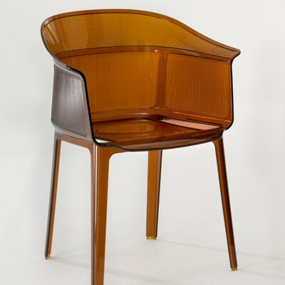 Low Price Kartell Papyrus Chair (Set of 2) Finish: Rust