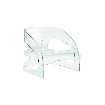 Joe Colombo Chair Color: Transparent Crystal