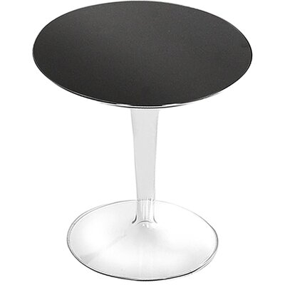 TipTop Side Table Finish: Mat Glossy Black
