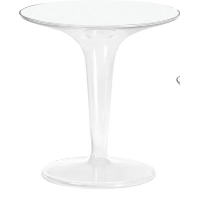 TipTop Side Table Color: Transparent Crystal