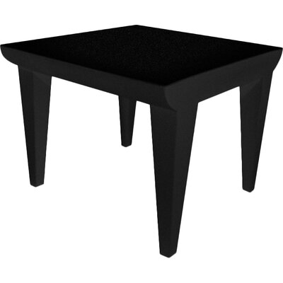 Bubble Club Side Table Color: Black