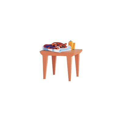 Bubble Club End Table Finish: Siena Red