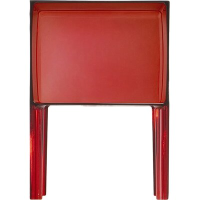 Ghost Buster Nightstand Color: Transparent Red