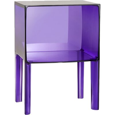 Ghost Buster Nightstand Color: Transparent Violet