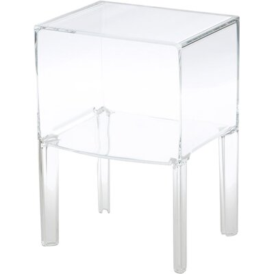 Ghost Buster Nightstand Color: Transparent Crystal