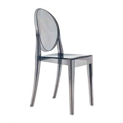 Low Price Kartell Victoria Ghost Chair Finish: Transparent Smoke Grey