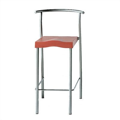 Rent to own High Glob Stool Colour: Black/Silve...