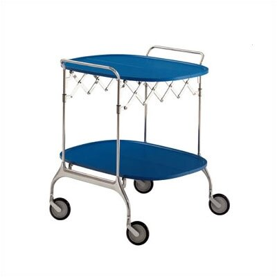 Gastone Kitchen Cart Color: Sea Blue