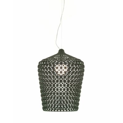 Kabuki Pendant Shade Color: Black