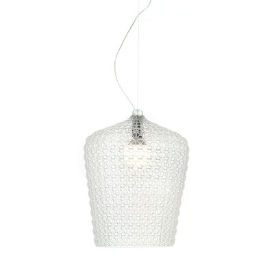 Kabuki Pendant Shade Color: Transparent
