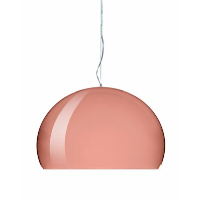 FL/Y M Hanging Lamp Shade Color: Copper, Size: 21.67 H x 32.67 W x 32.67 D