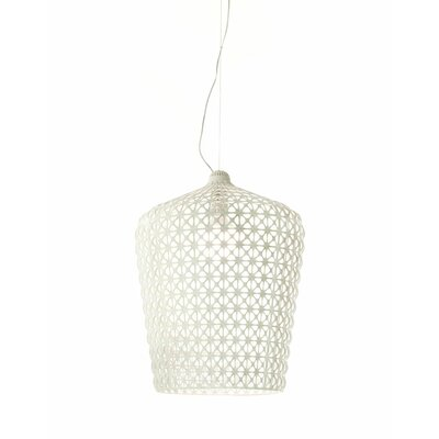 Kabuki Pendant Shade Color: White