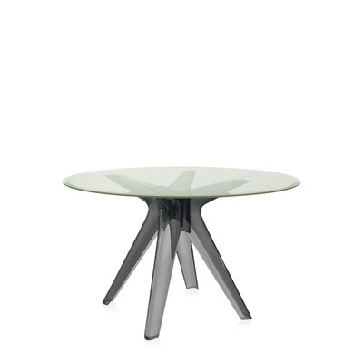 Sir Gio Table Base Color: Fum�, Top Color: Fum�